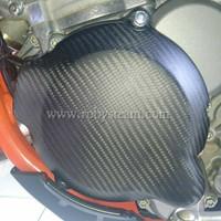 Cover magnet kiri carbon untuk ktm dan husqvarna 250exc/300exc.tx.xcw