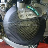 Cover Kopling Carbon Untuk Ktm dan Husqvarna 250 Exc 300exc
