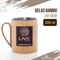 Gelas Stainless Bambu LNX Gear