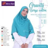 Nibras Hijab Gravity Tosca Bergo Antem Orlin Jilbab Instan Bross Bunga