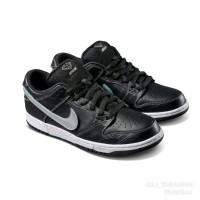 Sepatu Pria Wanita Nike Sb Dunk Low Diamond Supplay Black Premium Qual