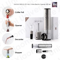 XIAOMI CIRCLE JOY 4-in-1 Wine Electric Opener Gift Set Wine Stopper