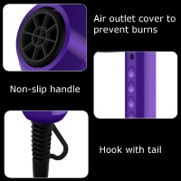 HJR Hair Dryer Compact Blow Low Noise Salon Powerful Hair