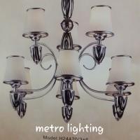 lampu gantung H24420/3+6 BKCH/FRGD