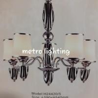 lampu gantung H24420/5 BKCH/FRGD