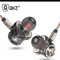 QKz CK10 Earphone Di Telinga dengan Mikrofon 6 Driver dinamis