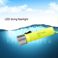 SENTER SELAM ANTI AIR / LIGHT DIVING FLASHLIGHT CREE W2 LED