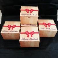 Dus makanan/box kue/dus snack/box kue murah/Dus MEGA GS-12X12 @50LBR