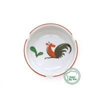 Asbak Keramik Motif Ayam Jago Seri 2