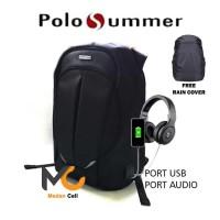 Tas Ransel Pria Polo Summer Cornerless Original Import MPS010