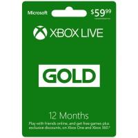 Xbox LIVE 12 Month Gold Membership Card Digital code