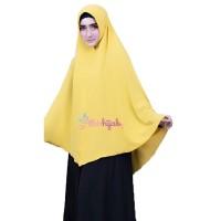 Khimar Maryam Pet Polos Ori Elda Hijab Pashmina Hijab Syari Jilbab