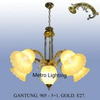 Lampu Gantung Kaca IL 905/5+1 GD