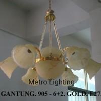 Lampu Gantung Kaca IL 905/6+2 GD