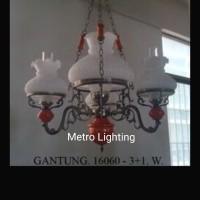 Lampu Gantung Betawi IL 16060/3+1 Putih