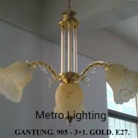 Lampu Gantung Kaca IL 905/3+1 GD