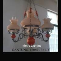 Lampu Gantung Betawi IL 16060/3+1 kuning