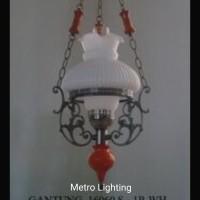 Lampu Gantung Betawi IL 16060/1 S Putih