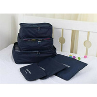 Tas Pouch Tempat Penyimpanan traveling bag in bag organizer 6PCS BL13