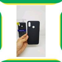 DISKON Slim Black Matte Realme 3 6.22 inchi Soft Case Realme3 RMX1821