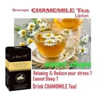 tea lipton chamomile 25 pcs teh