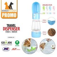 Pet Bottle Travel / Bottle Portable Hewan / Botol Minum Kucing Anjing