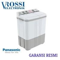 MESIN CUCI PANASONIC 2 TABUNG 9.5 KG LOW WATT AG CLEAN PUTIH ABU 96BBZ