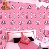 Jual Wallpaper Dinding Kamar Hello Kitty Harga Terbaru