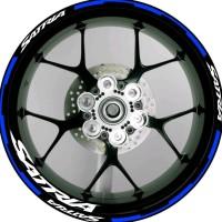 Stiker List Velg Motor Wheels Sticker Suzuki Satria F150 V1 Ring 17