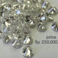 Berlian Tabur white eropa Top Clarity VVS Collor DEF 0.03ct