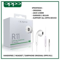 Headset Oppo Original Handsfree Original Oppo