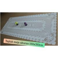 Taplak meja makan panjang + ukuran 150 x350 cm + taplak 1065