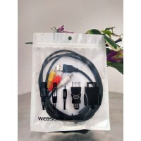 KABEL USB 2.0 MALE TO RCA-3 WEBSONG
