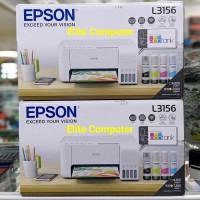 PRINTER EPSON L3156 WIFI PRINT - SCAN - COPY NEW WIRELESS - WHITE