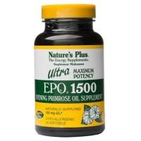 NATURE'S NATURES NATURE PLUS ULTRA EPO 1500 EVENING PRIMROSE OIL - 60