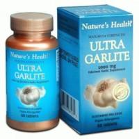 NATURE'S NATURES NATURE HEALTH ULTRA GARLITE GARLIC BAWANG 60 TABLETS