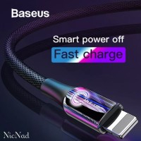 Baseus Kabel Data iPhone/Lightning Auto Disconnect 2.4A 1M Fast Charge