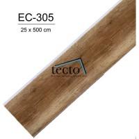 TECTO Plafon PVC EC-305 ( 25 cm x 500 cm )