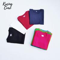 Kaos Polos Anak Cotton Combed 30s Lengan Pendek Size 1 / M Murah
