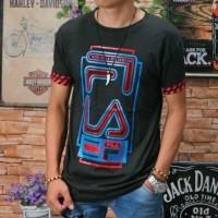 NEW - Baju Kaos Atasan Oblong Pria Remaja Tshirt Distro Katun Tumblr