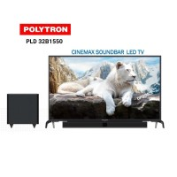POLYTRON CINEMAX SOUNDBAR LED TV-PLD 32B1550