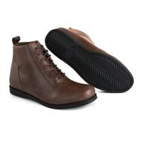 SULTAN VENTURA SERIES - sepatu boots formal casual pria kulit pull up