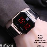 ORIGINAL ! Jam tangan Wanita Iphone Digital 2 4 warna