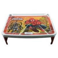 Meja Lipat Belajar Anak Napolly Karakter Spiderman Lesehan Red Merah