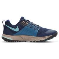 Sepatu Lari Womens Nike Air Zoom Wildhorse 4 Blue Void 136901446