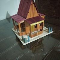 510 Koleksi Gambar Rumah Betawi Dari Stik HD