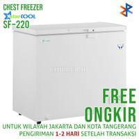 Chest Freezer Starcool SF-220 (220 liter) Free Ongkir