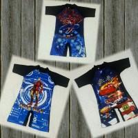 baju renang anak cowok diving anak TK SD Tayo Tobot