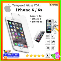 "Tempered Glass iPhone 6/6s (4.7"" inchi)"