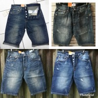 Celana levis pendek 501 100% original import